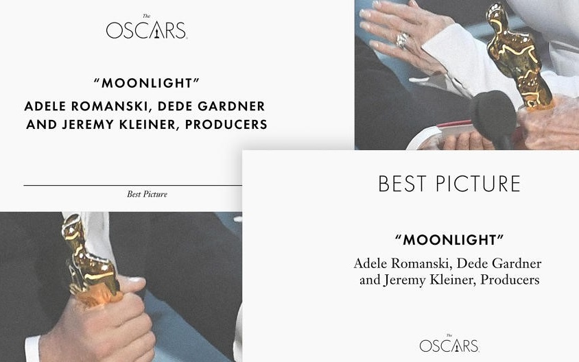Typography Could've Saved the Oscars