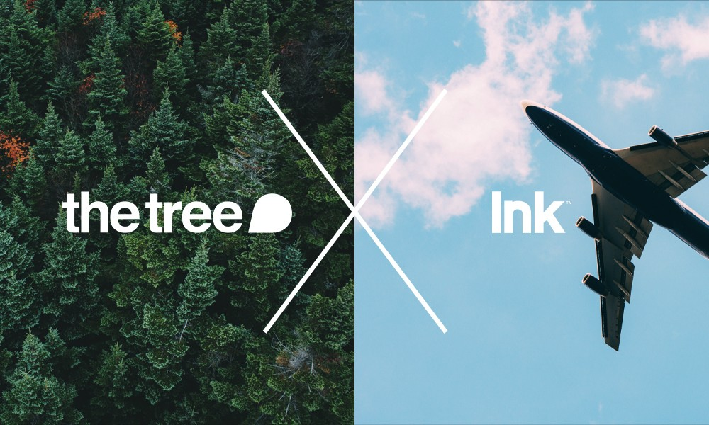 the tree + Ink: a collaboration with wings
